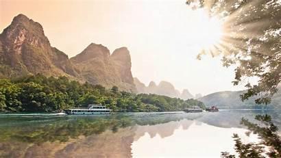 Guilin Travel China Yangshuo River Province Ir