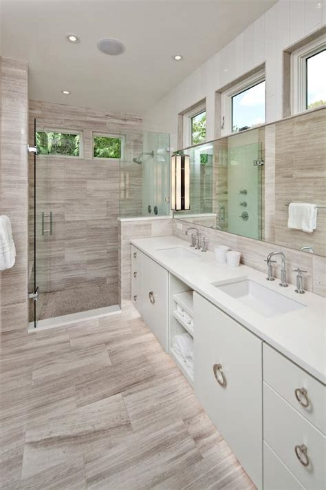 Modern Bathroom With Wood Tile by Photo Page Hgtv