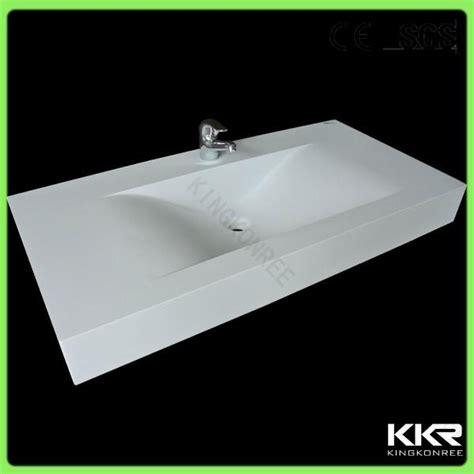 kkr modern design solid surface trough sink kkr wash
