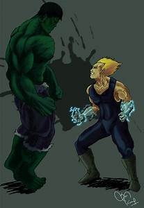 Hulk vs Vegeta! whoz gonna win :P by Kiranssj4 on DeviantArt