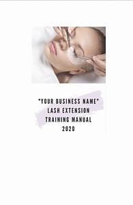 Custom Eyelash Extension Training Manual   Guide 2020 Lash