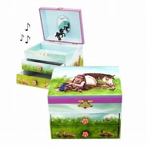 Boite A Bijoux Enfant : boite bijoux enfant cheval et fillette ~ Teatrodelosmanantiales.com Idées de Décoration
