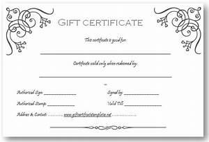 Art business gift certificate template beautiful printable gift certificate templates for Free printable gift certificates templates