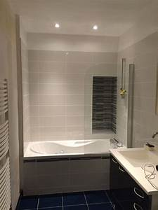 Enlever Carrelage Sur Placo : salle de bain plomberie baignoire carrelage placo ~ Dailycaller-alerts.com Idées de Décoration