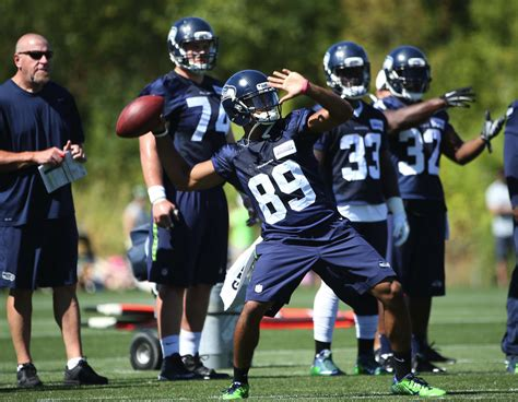 seahawks training camp august    seattle times