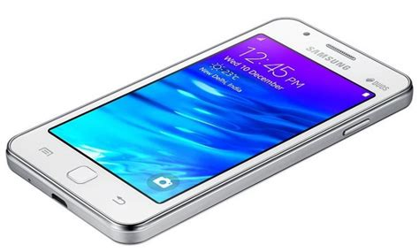 samsung z2 tizen specifications features on