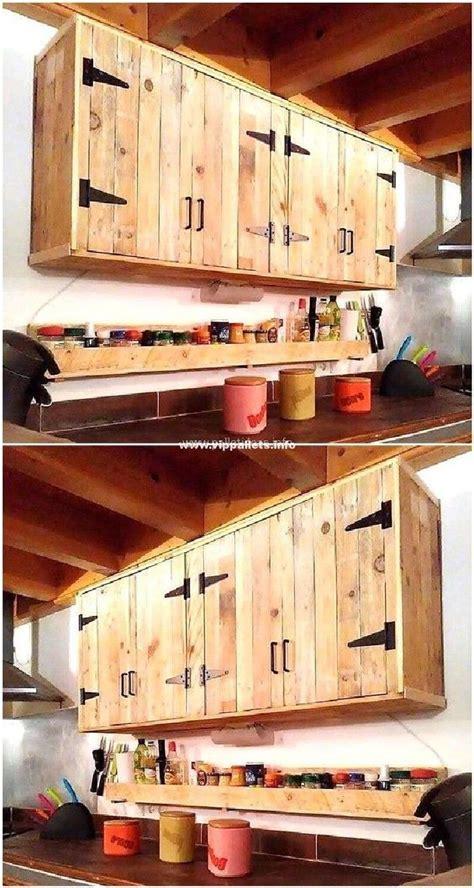 stylish diy wooden pallets cabinet ideas building