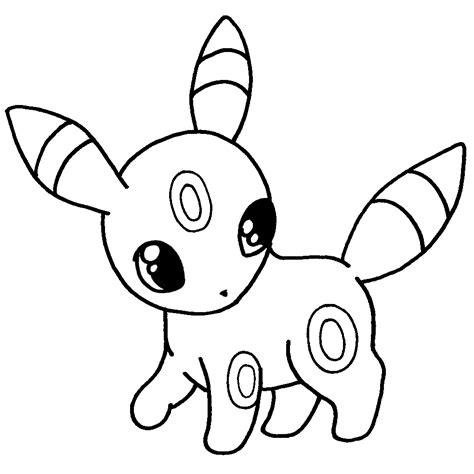umbreon pokemon colorear png Dibujando con Vani