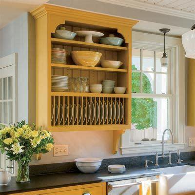 kitchen cabinets kitchen design pinterest plate racks crown  shelves
