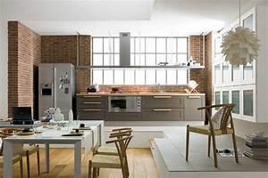 Salon Cuisine Ouverte : id e am nagement cuisine ouverte inspirations et ~ Melissatoandfro.com Idées de Décoration