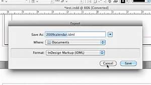 How To Convert Adobe Indesign Cs5 To Cs4