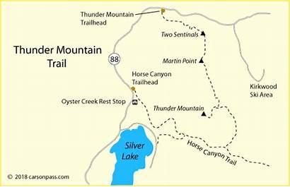 Pass Lake Silver Thunder Mountain Trail Carson