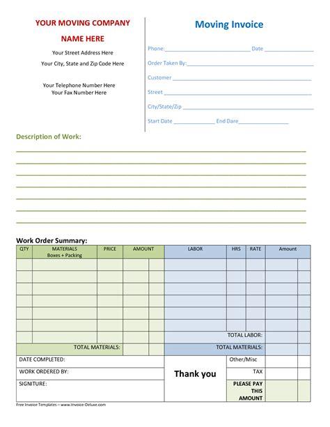 company invoice template invoice