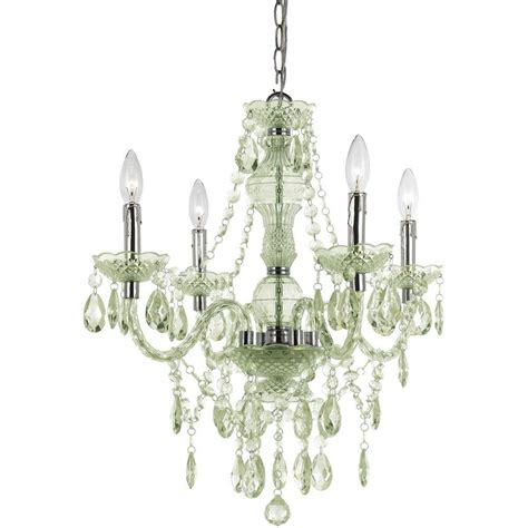 hton bay 3 light chrome theresa mini chandelier