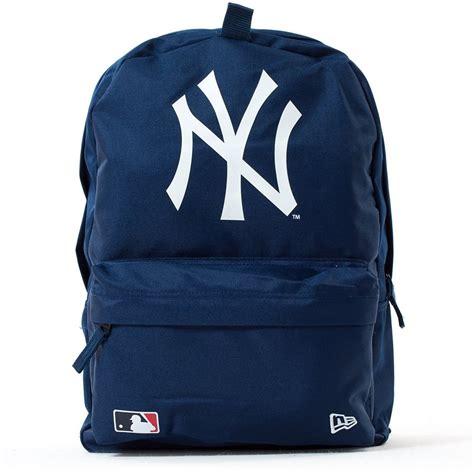 new yorker rucksack new era backpack mlb stadium pack new york yankees navy