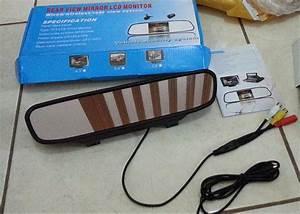 Jual Monitor Spion Sensor Kamera Parkir Mundur Infrared
