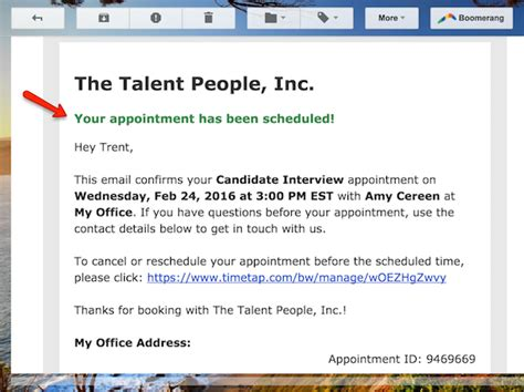 interview confirmation email confirmation email template sle 4 new portrayal also request letter and recent