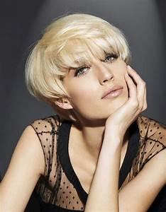 Coupe Femme Courte Blonde : la coupe courte blond platine de franck provost coiffures de saison nos id es pour s ~ Carolinahurricanesstore.com Idées de Décoration
