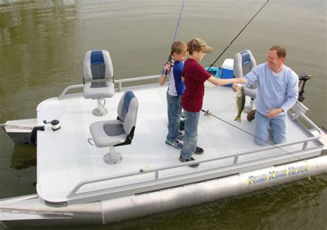 Mini Pontoon Boats For Sale In Iowa by Mini Pontoon Boats Small Pontoon Fishing Boats Pond King