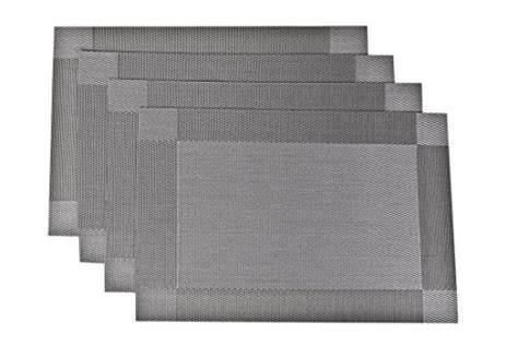 Sicohome Placemats Pvc Dining Room Placemats For Table