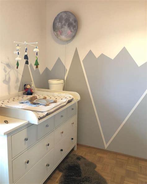 Kinderzimmer Deko Berge by Kinderzimmer Wickeltisch Mobile Berge Wandgestaltung