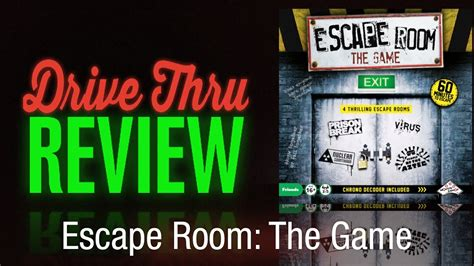 Escape Room The Game Review  Drive Thru Review