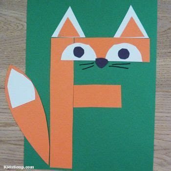 f for fox letter f craft and activities for preschool 490 | 65d4d2ca0a463b5e6101913871f6bcc8