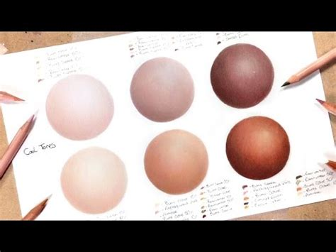 prismacolor skin tone colored pencils drawing realistic skin coloured pencil drawing tutorial
