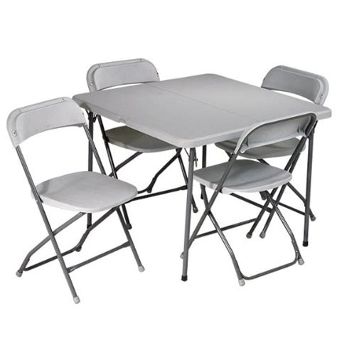 folding card table and chair set and chair set bar