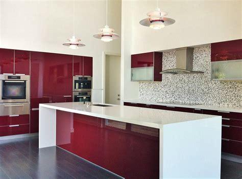 cuisine moderna 15 lindas cozinhas para quem adora vermelho limaonagua