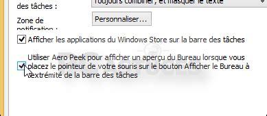 performance du bureau pour windows aero pc astuces retrouver l 39 aperu du bureau windows 8 1
