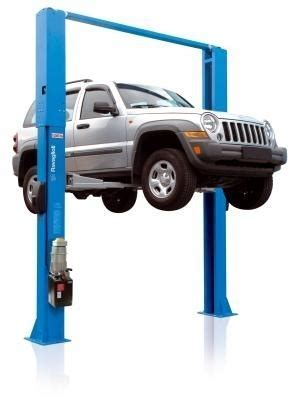 Garage Automotive Lifts   Two Post Lift   Floor Free