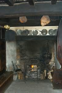 Colonial Open Hearth Fireplaces