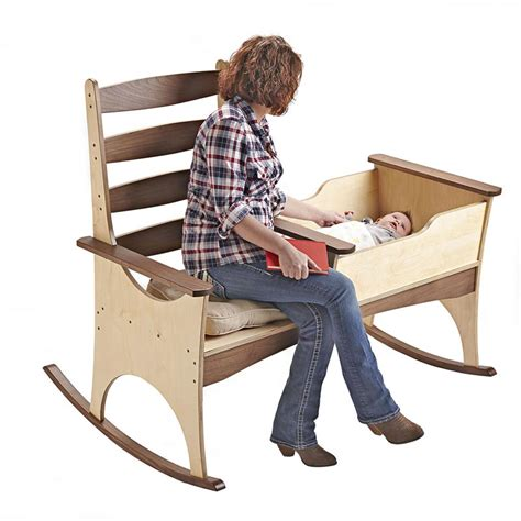 nanny rocker woodworking plan  wood magazine