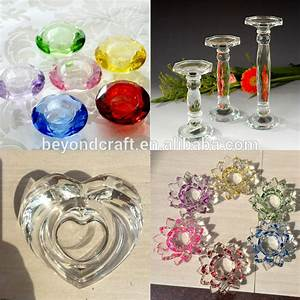 romantic wholesale crystal lotus flower candle holder for With kitchen cabinets lowes with lotus candle holder wholesale