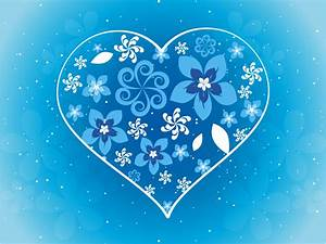Winter Flower Heart