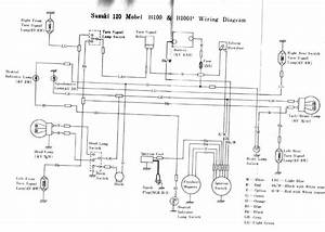 Suzuki B100  B100p And B105p Service Manual