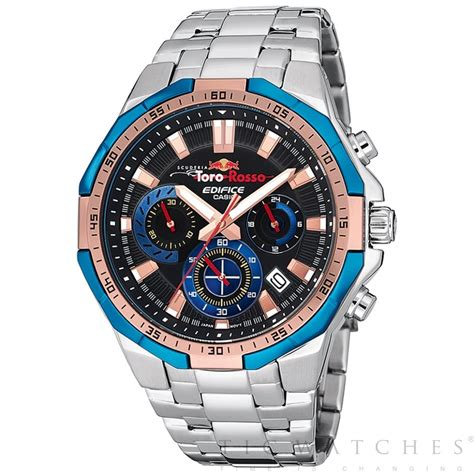 tic watches casio edifice efr 554tr 2aer toro rosso