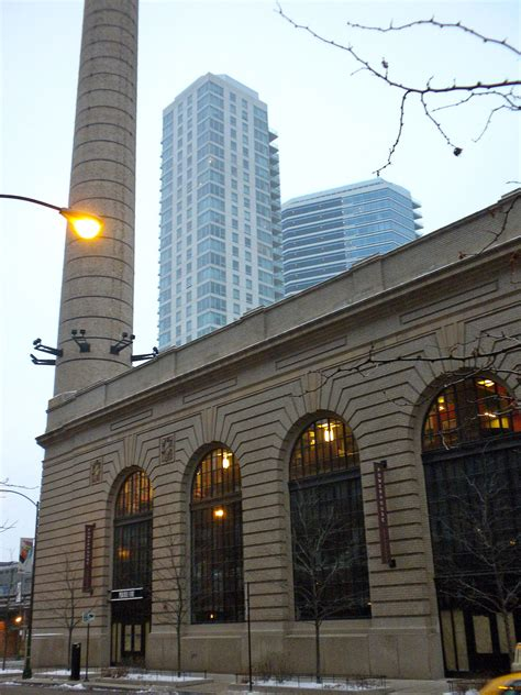 power house chicago and western railway power house