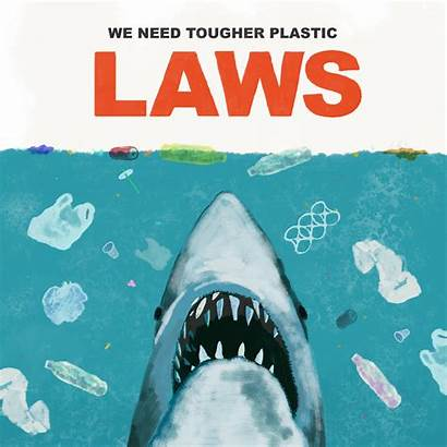 Pollution Plastic Posters Poster Ocean Behance Single