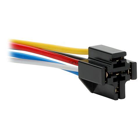 Vdc Pin Relay Socket For Bosch Type