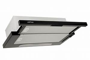 Montage Hotte Tiroir : hotte tiroir airlux ht20h noir 2803844 darty ~ Premium-room.com Idées de Décoration