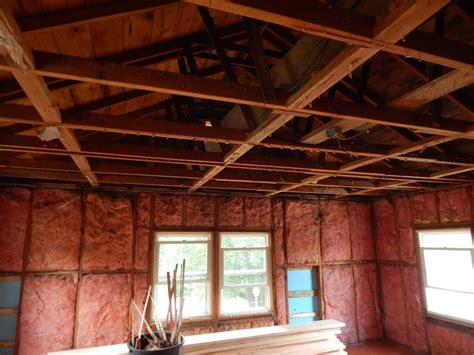 Ceiling Joist Span 2x4 by Increase Size Of Ceiling Joist Compromise Roof Strength