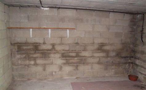 humidite sur mur de sous sol enterre