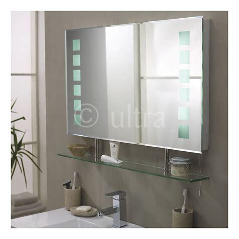 miroir salle de bain avec etagere maison design bahbe