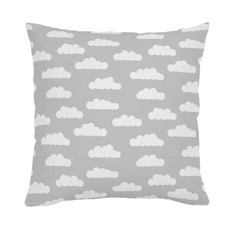 white and silver throw pillows silver gray and white clouds throw pillow carousel designs