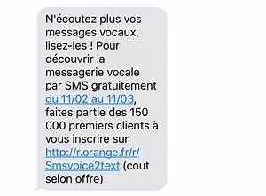 Ecouter Ses Messages Vocaux Bouygues Portable : orange lance la messagerie vocale par sms ~ Medecine-chirurgie-esthetiques.com Avis de Voitures
