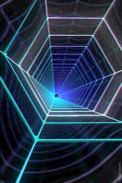 spdrwbnt ello fractal art art optical retro futurism