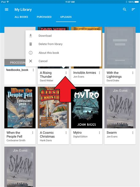 How to Upload ePub and PDF Files to Google Play Books