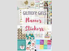 Gilmore Girls Planner Sticker Roundup Long Story Short